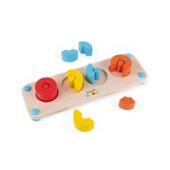Janod Zlomky séria Montessori 3