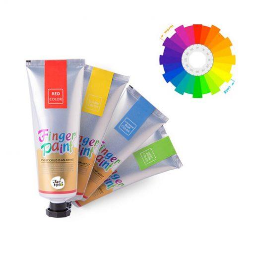JarMelo Set prstové farby  4