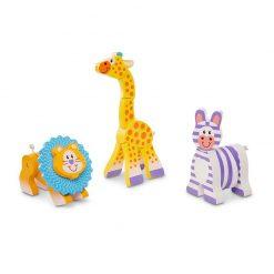 Melissa & Doug Moja prvá hračka Drevené zvieratká 1