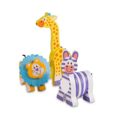 Melissa & Doug Moja prvá hračka Drevené zvieratká  2