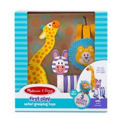 Melissa & Doug Moja prvá hračka Drevené zvieratká 4