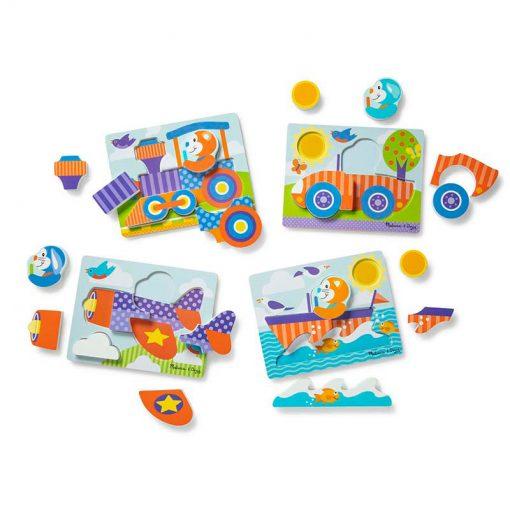 Melissa & Doug Moja prvá hračka Puzzle Safari 1