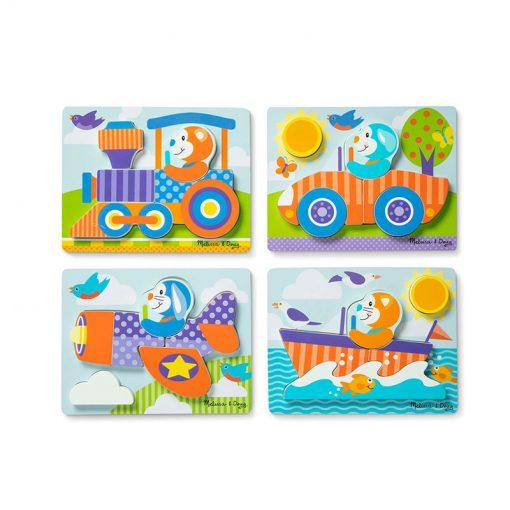 Melissa & Doug Moja prvá hračka Puzzle Safari 2