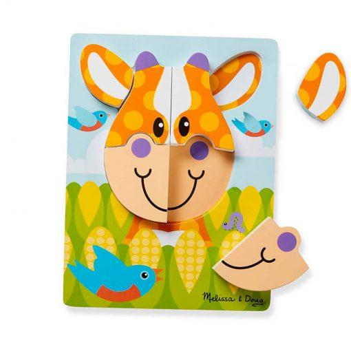 Melissa & Doug Moja prvá hračka Puzzle Farma 3