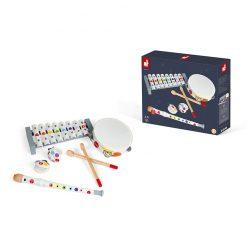 JANOD Drevená sada hudobné nástroje Confetti 3