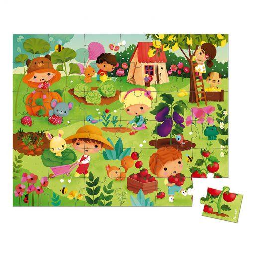 JANOD Puzzle Záhrada 2