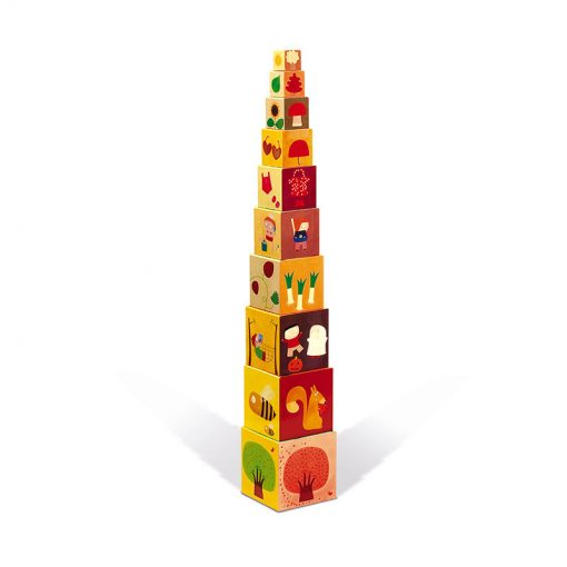 JANOD Skladacia pyramída Štyri ročné obdobia 1