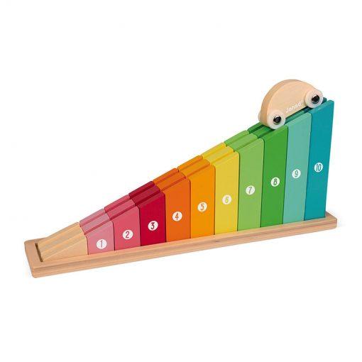 JANOD Učíme sa ako počítať do 10 Crescendo s autíčkom 1