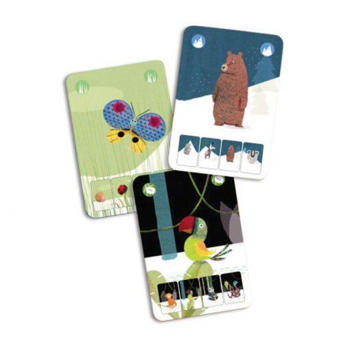 Djeco Kartová hra Mini Nature 2