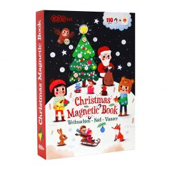 Magnetická kniha Vianoce 1