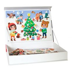 Magnetická kniha Vianoce 2