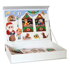 Magnetická kniha Vianoce 3
