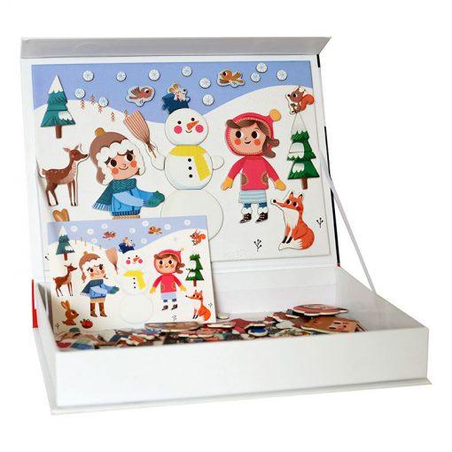 Magnetická kniha Vianoce 4