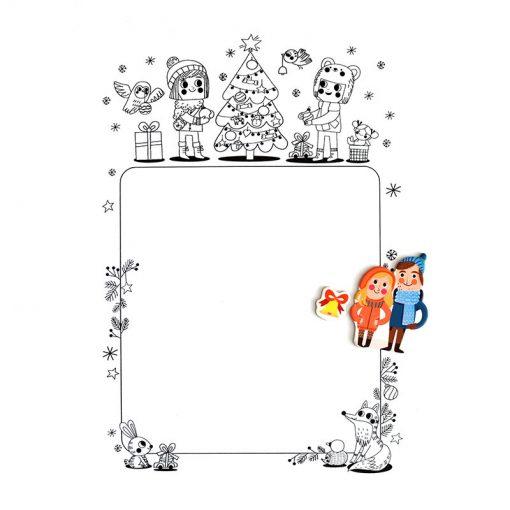 Magnetická kniha Vianoce 6