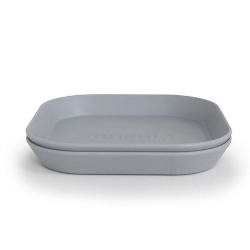 Mushie Hranatý tanier Cloud 1