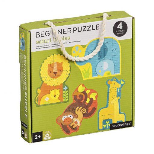 Petitcollage Prvé puzzle Mláďatá sfari 1