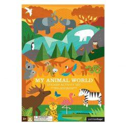 Petitcollage Znovupožiteľné samolepky Svet zvierat 1