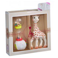 Sophie Darčekový set žirafa Sophie a marakas 1