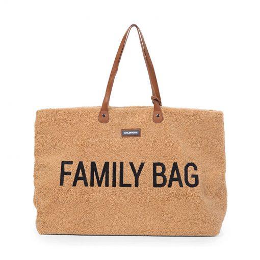 Childhome Cestovná taška Family bag Teddy Beige 1