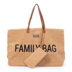 Childhome Cestovná taška Family bag  Teddy Beige 2