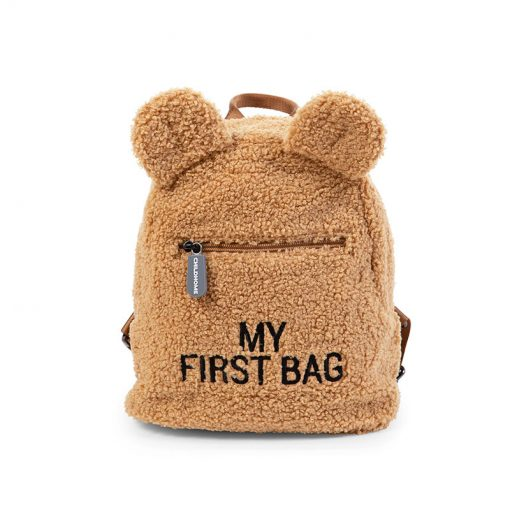 Childhome Detský batoh My first bag Teddy Beige 1