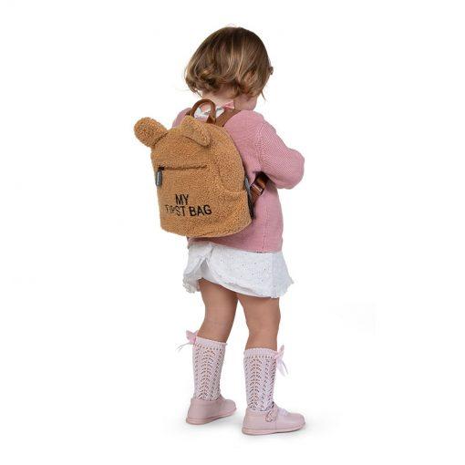 Childhome Detský batoh My first bag Teddy Beige 3