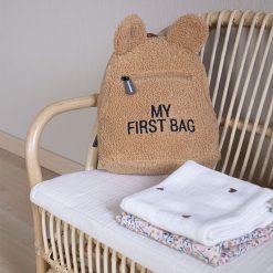 Childhome Detský batoh My first bag Teddy Beige 4