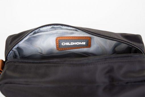 Childhome Toaletná taška Momlife Black gold 3