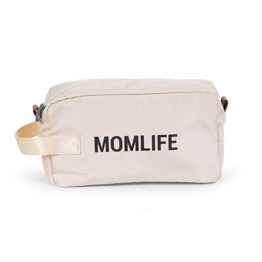 Childhome Toaletná taška Momlife Off white 2