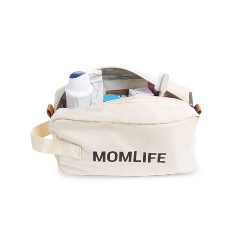 Childhome Toaletná taška Momlife Off white 3