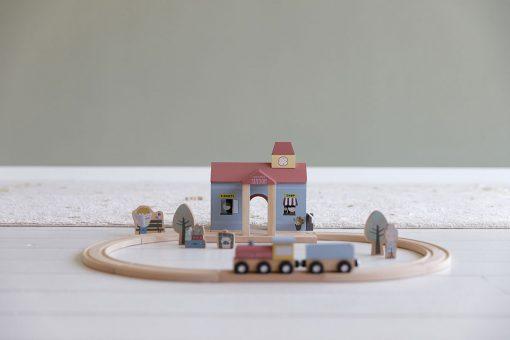 Little Dutch Vláčiková dráha Stanica 3
