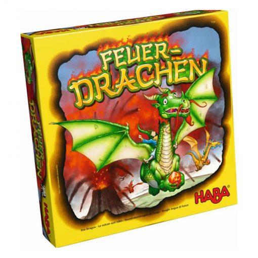 Haba Spoločenská hra Ohnivý drak 1
