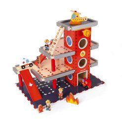 Janod Drevená požiarna stanica a garáž 1