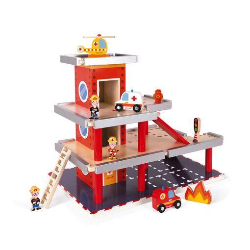 Janod Drevená požiarna stanica a garáž 2