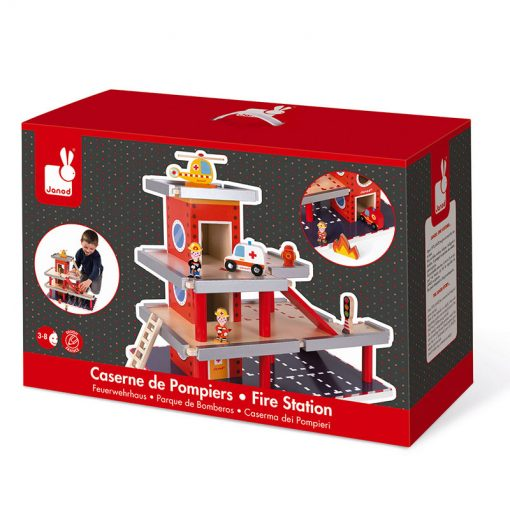 Janod Drevená požiarna stanica a garáž 7