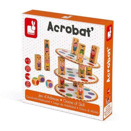 Janod Spoločenská hra pre deti Akrobat 7