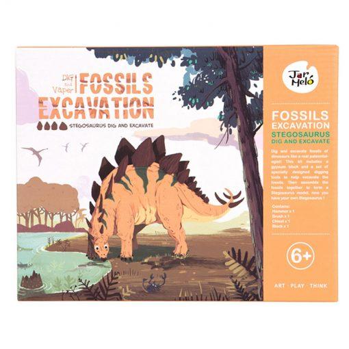Jarmelo Malý paleontológ Stegosaurus 1