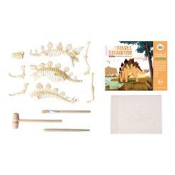 Jarmelo Malý paleontológ Stegosaurus 2