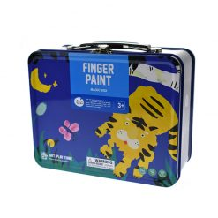 Jarmelo modrý kufrík Prstové farby s pečiatkami 5