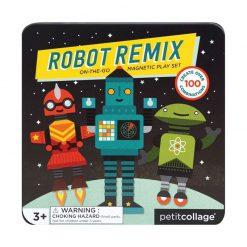 Petitcollage Magnetická knížka Roboti 1