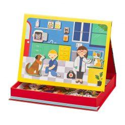 Petitcollage Magnetická tabulka veterinárna klinika 2