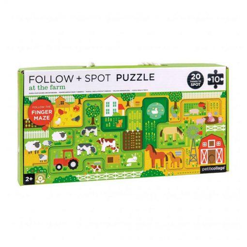 Petitcollage Puzzle Bludisko Farma 1