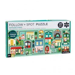 Petitcollage Puzzle Bludisko Mesto 1