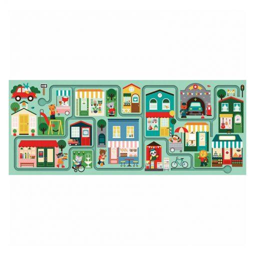 Petitcollage Puzzle Bludisko Mesto 3