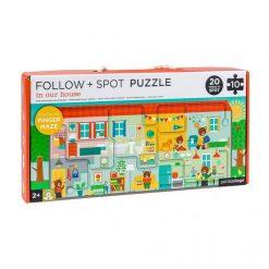 Petitcollage Puzzle Bludisko Náš domov 1