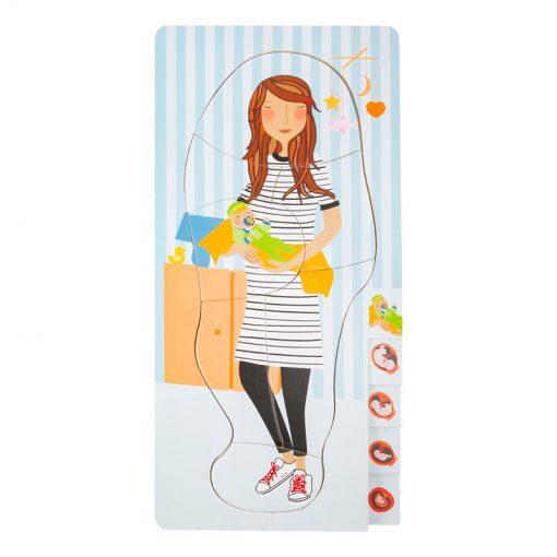 Small Foot by Legler Puzzle tehotná mamička 1