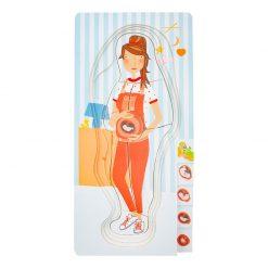 Small Foot by Legler Puzzle tehotná mamička 4