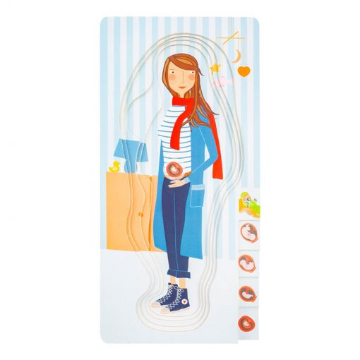 Small Foot by Legler Puzzle tehotná mamička 5