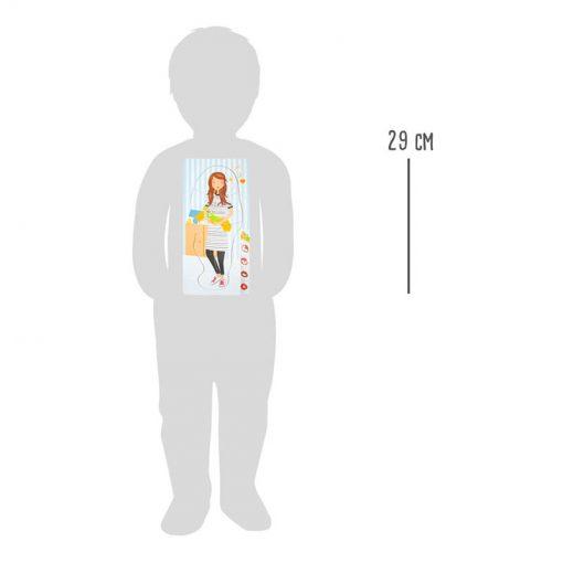 Small Foot by Legler Puzzle tehotná mamička 7