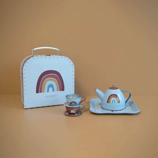 Little Dutch Čajový set v kufríku Pure & Nature 2
